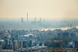 ville, pollution, industrie, bilan carbone